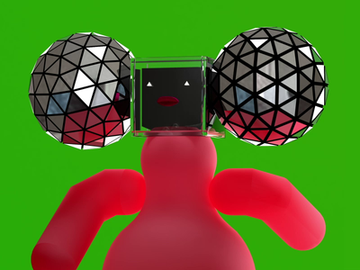 weIRDO animation c4d character redshift 3d illustration rendering