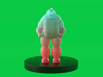 Character redshift character modelling illustration 3d illustration 3d rendering