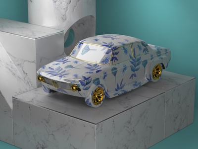 Porcelain BMW