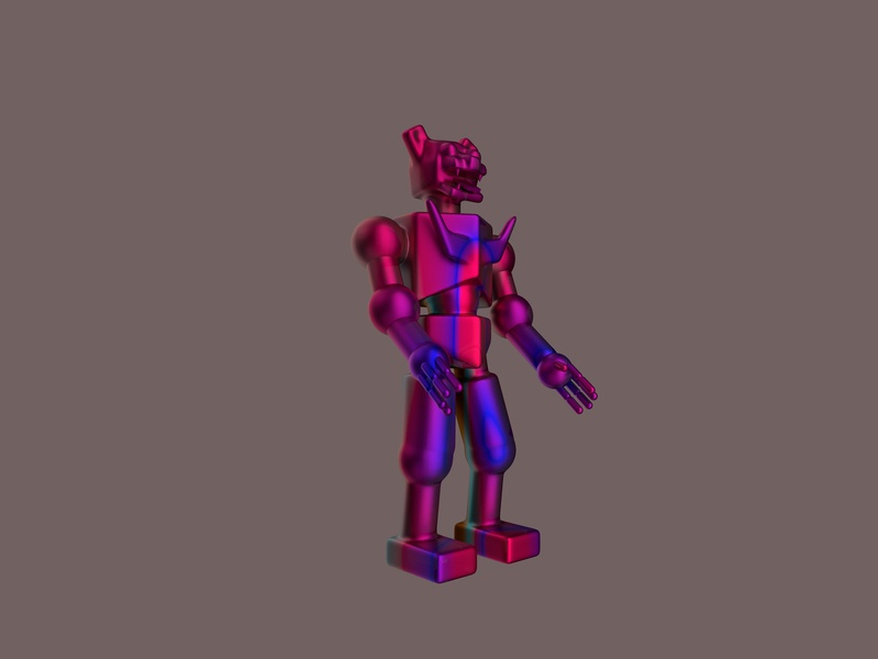 Cat Robot 3dprint object imaginary scifi robot character design rendering redshift 3d illustration modelling 3d