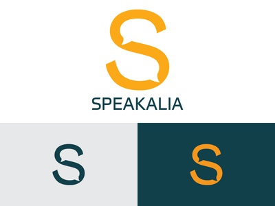 Speakalia logo concept