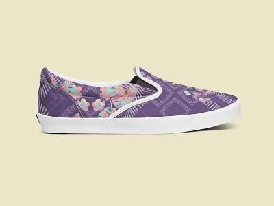 Folium Colorê Shoe surface design fashion style pattern shoe