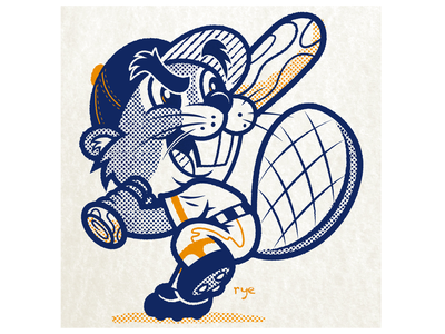 Go Beavers! art mascot mascot logo mascot design character art character design branding illustration vector design