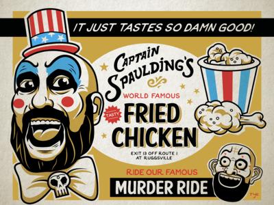 Captain Spaulding's World Famous Fried Chicken
