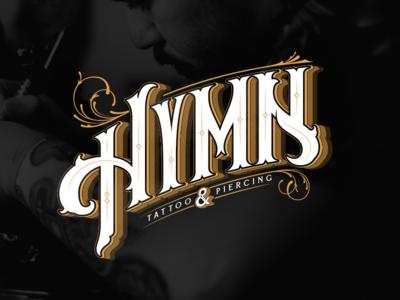 Branding/Identity: Hymn Tattoo & Piercing