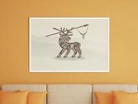 Deer Tribal Concept