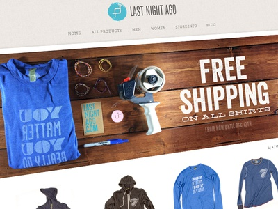 Free Shipping Callout Banner