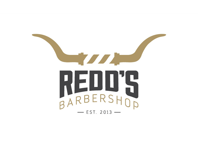 Image result for redds barber shop logo