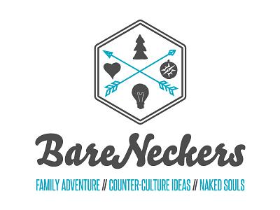 BareNeckers Logo logo branding design