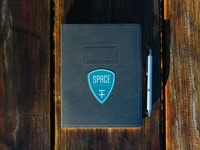 Space Retreat Logo + Sticker