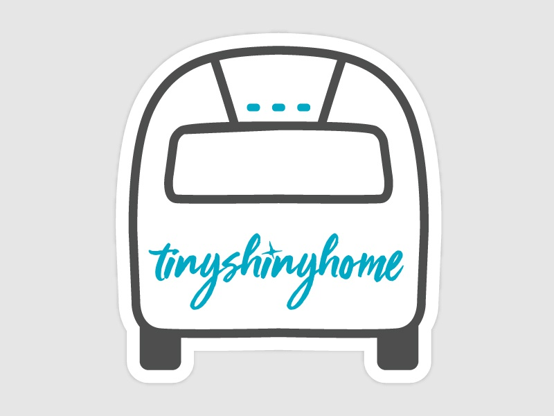 Tinyshinyhome sticker