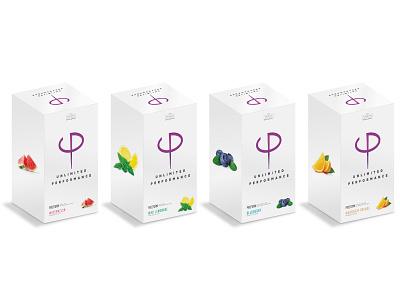 Unlimited Performance Box Renders branding design 3drenders packaging product