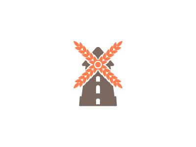 Bakery Mill Logo mill bakery logo