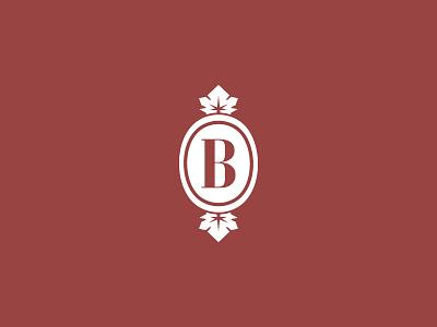 Vineyard tradition leaf wine vine vineyard logo