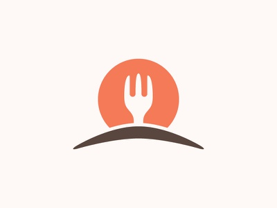Mexican Food fork cactus mexican restaurant food logo