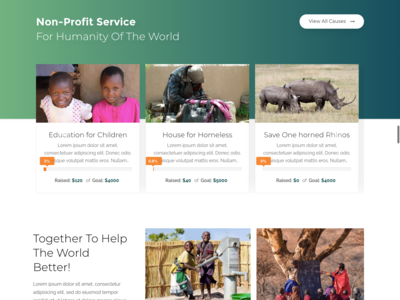 NGO Charity Premium WordPress Theme