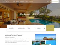 Hotel Pagoda Premium WordPress Theme