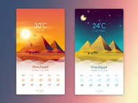 Weather app giza