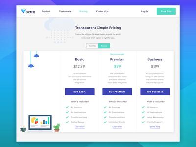 Transparent Simple Pricing