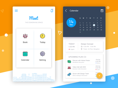 Schedule meeting app