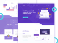 Shopic Landingpage Exploration