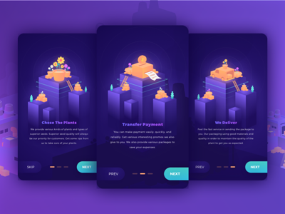 Onboarding Seedz App Exploration webdesign ux userinterface uptrends uitrends uidesign ui inspiration graphicdesign appdesign