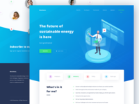 Boosiness Landing Page Concept