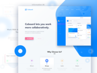 Coboard Landing Page Preview