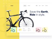 BIQU Landing Page Concept
