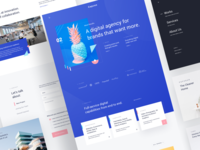 Capcon Digital Agency - Landing Page