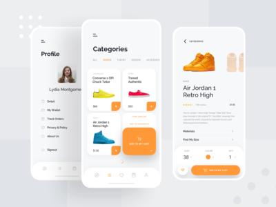 Ece - Shopping App Concept