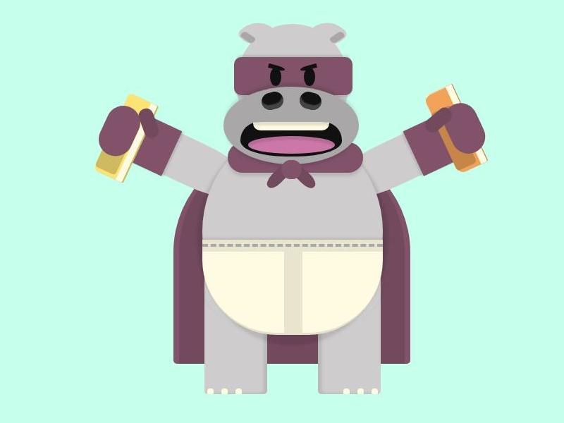 The Comic Book Caper! [WIP] villain hippopotamus cartoon comics css character