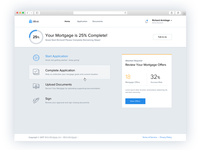 End-to-End SaaS Mortgage Application