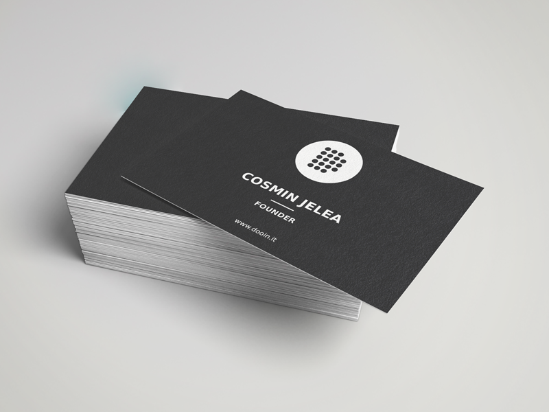 Dooinit Startup - Business Card by Adrian Sule - Dribbble