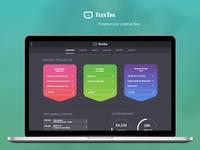 Teektak - Tool Dashboard