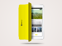 YP branding - ipad smart cover