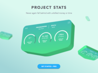 Project Stats section