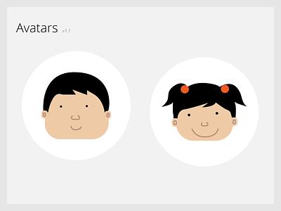 Avatars tech-ed app in-app illustration avatars