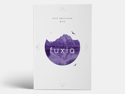 Fuxia Magazine brand identity logo typography icon graphic design branding project company style guide v-jet group