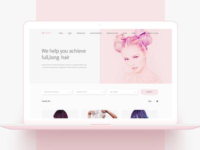 Remi: webshop for beauty salons beauty ecommerce website webshop