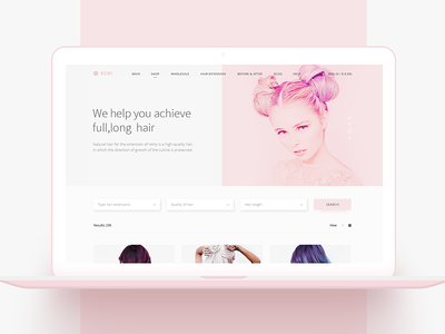 Remi: webshop for beauty salons