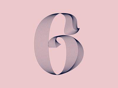 QUARANTYPE - 6 X 36 Days Of Type #7 kinetictypography numbers 36daysoftype07 36days 36daysoftype design lettering typography graphicdesign artdirection alvaromelgosa
