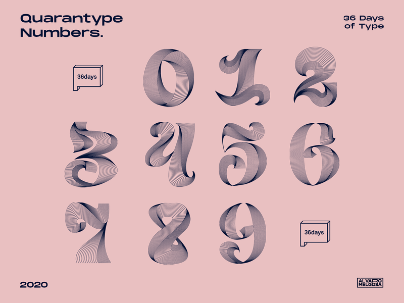 36days Quarantype Numbers