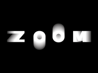 Zoom Lettering