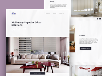McMurray Superior Décor Solutions house web layout design interior