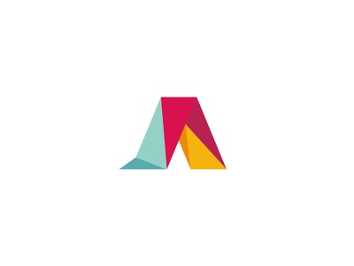 AARTO architecture design studio monogram simple studio brand different perspective dipe logo geometry architecture polygon letter a