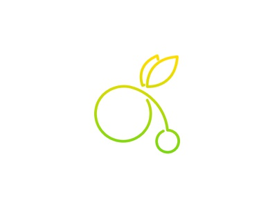 theTrip bicycle logo dipe simple line air fly travel baloon bike