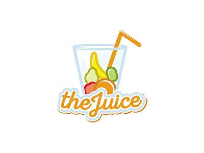 theJuice kiwi apple dipe logo orange banana drink glass fruit juice
