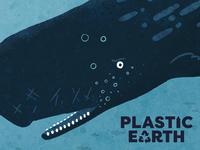 Plastic Earth Sperm Whale