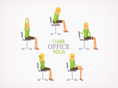 office chair yogatanya lobach - dribbble